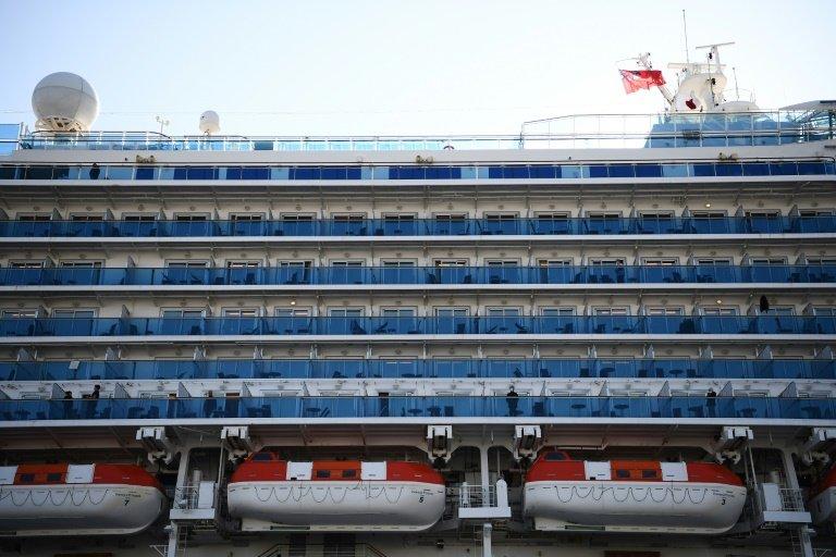 Rund 60 weitere Coronavirus-Fälle auf japanischem Kreuzfahrtschiff.