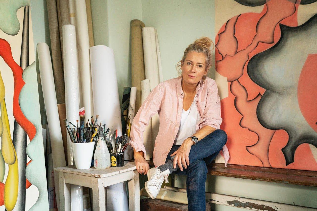 Die Künstlerin Judith Milberg - Foto: Linus Müllerschön