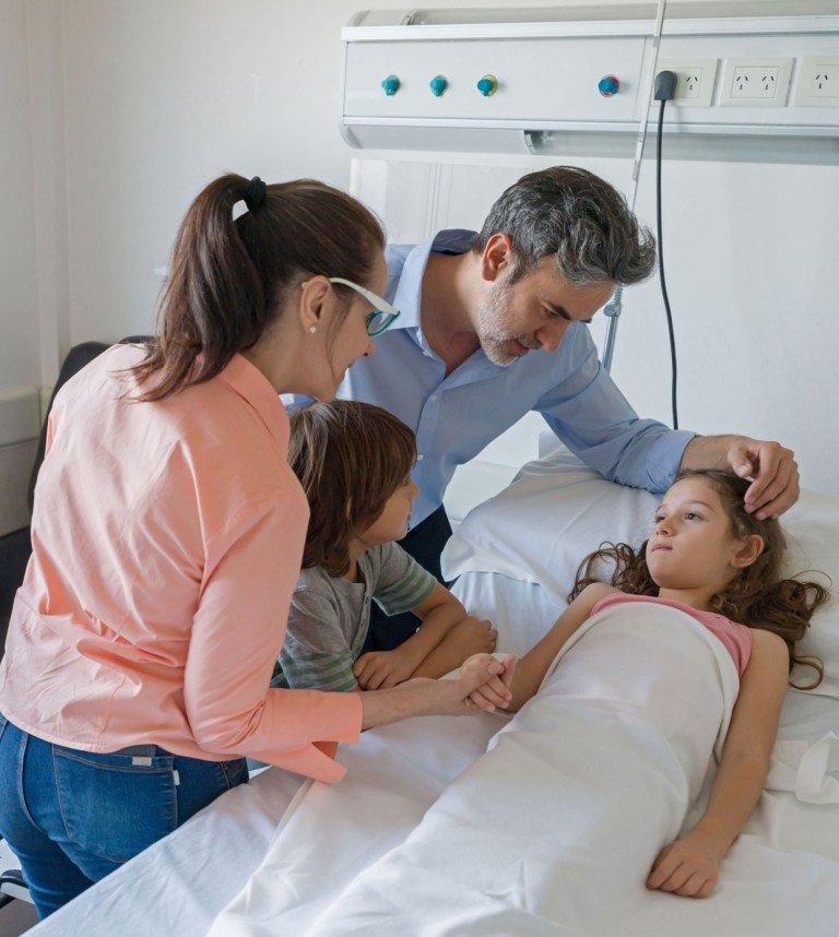 Die Krankenhaustagegeldversicherung greift, wenn eine medizinisch notwendige Behandlung stattfindet. - Foto: djd/Nürnberger Versicherung/Getty Images/Hispanolistic