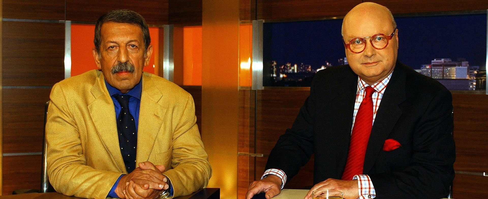 Ulrich Kienzle und Bodo Hauser( 2002) / ZDF und Juergen Detmers.