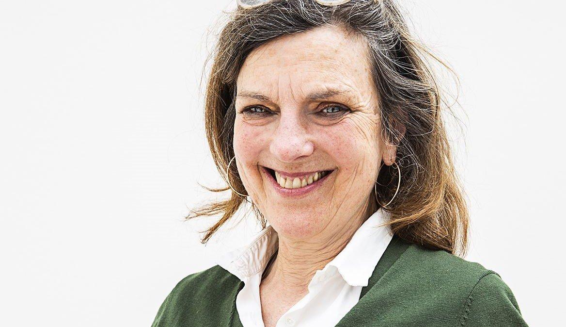 Die Kunstvermittlerin Inès von Patow ist die Stimme des Podcast. Foto: LWL / Hanna Neander