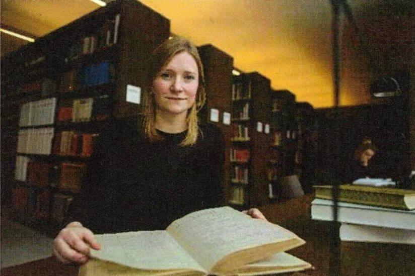 Provenienzforscherin Eline van Dijk. Foto: Wilfreid Gerharz, LWL-Museum für Kunst und Kultur