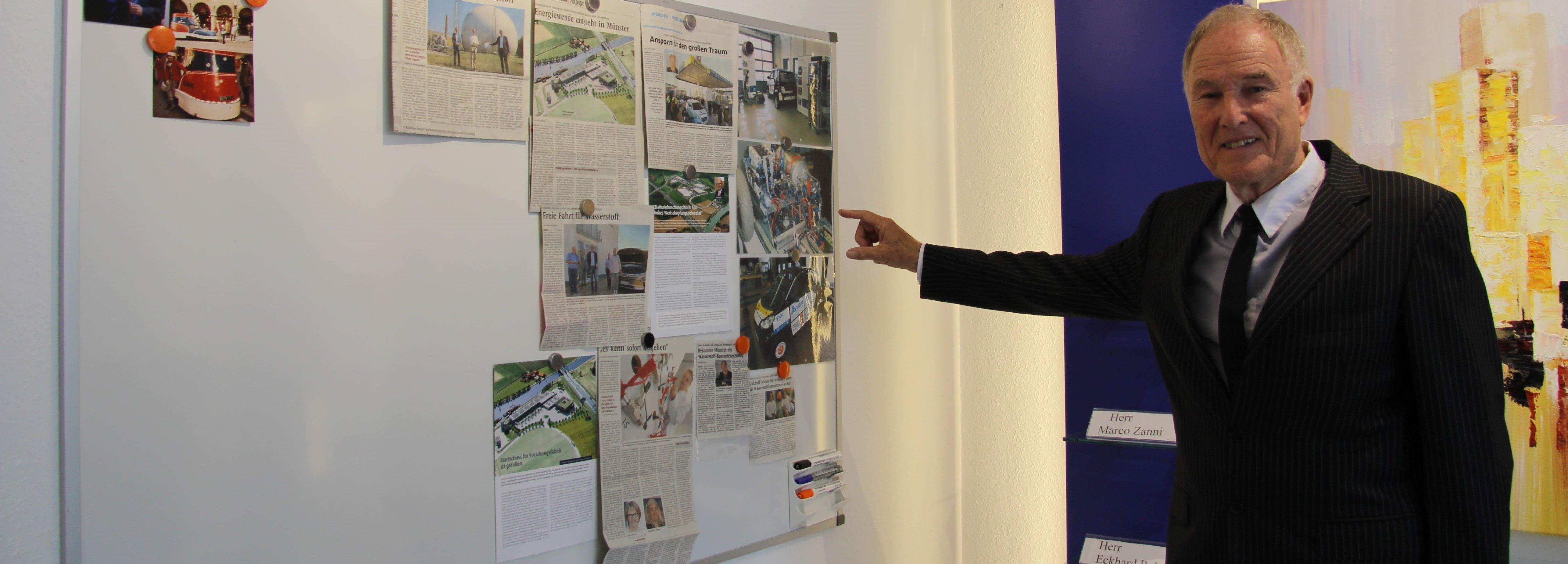 Unternehmer Dieter Kerkhoff , Foto: Jana Schmincke