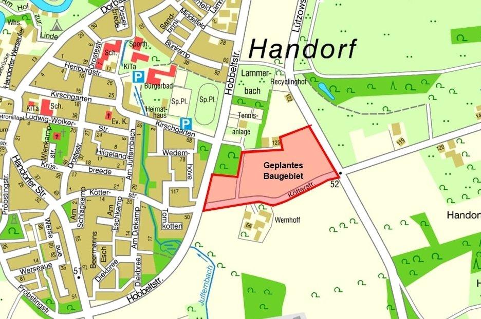 Erste Entwürfe für neues Wohngebiet Kötterstraße stehen zur Diskussion Bürgerbeteiligung am 27. Oktober im Rathausfestsaal