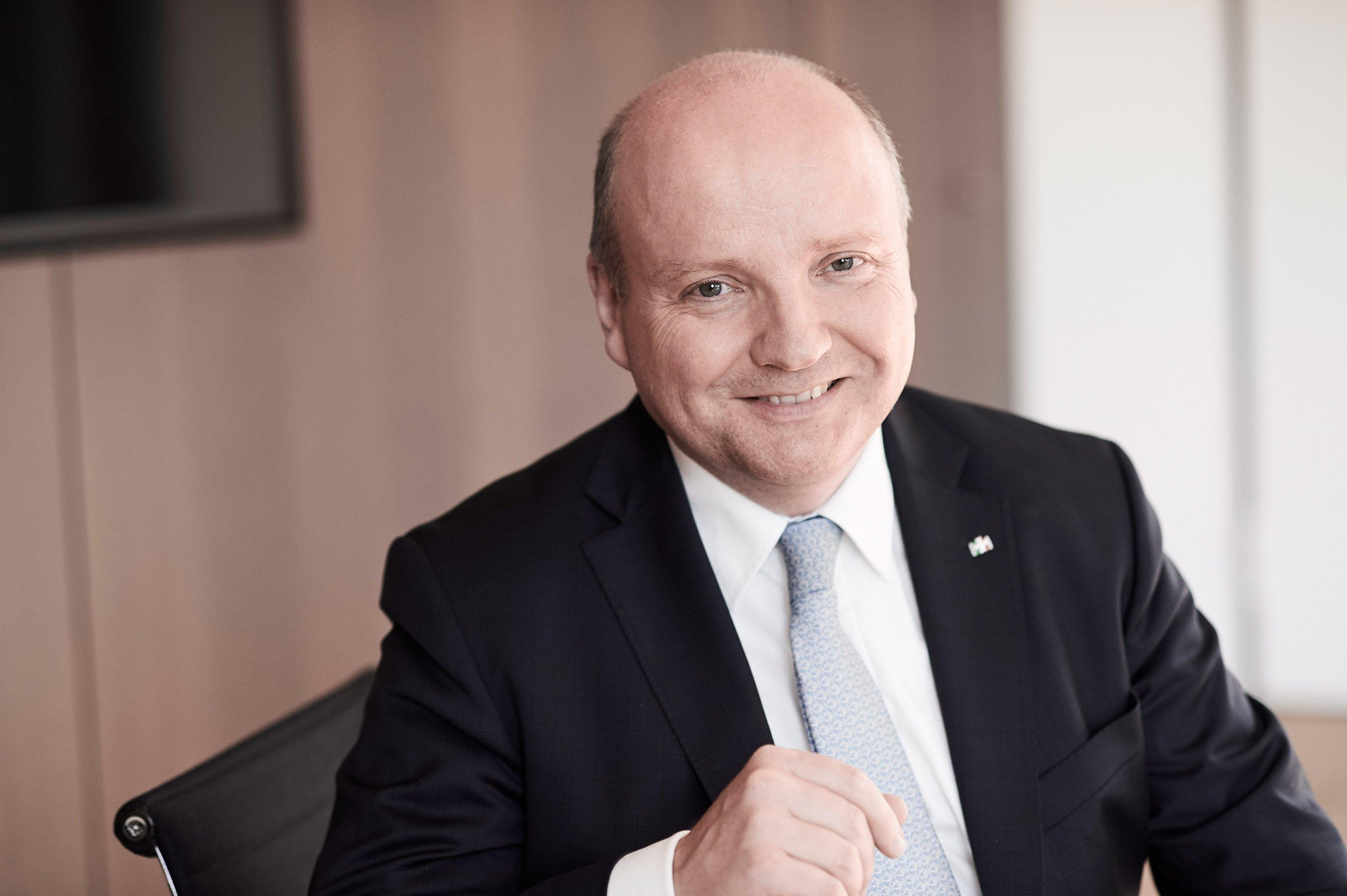 Dr. Benedikt Hüffer, Präsident der IHK Nord Westfalen