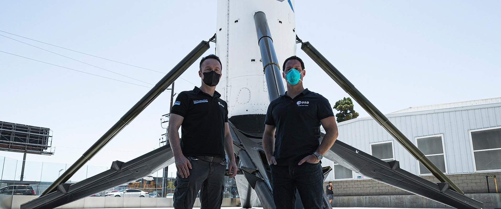 Erste Europäer mit privatem Trägerstart Bild 3/4, Credit: SpaceX