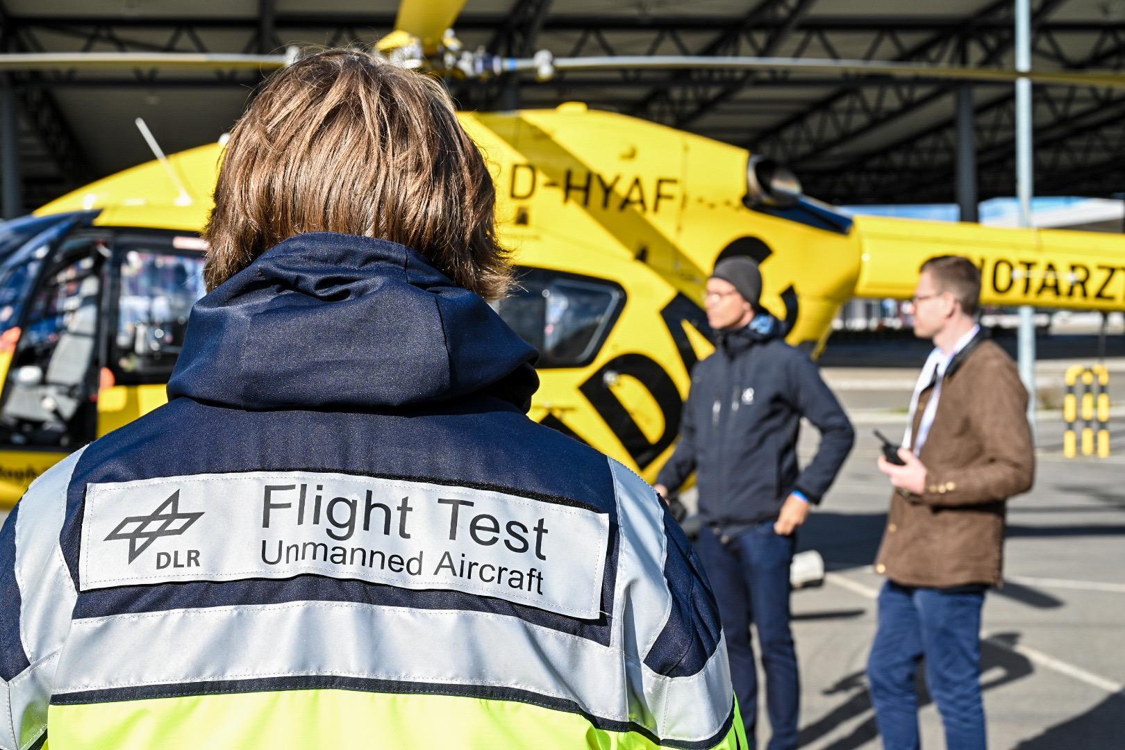 Gemeinsames Premiere für Air2X-Partner Bild 4/4, Credit: © DLR. Alle Rechte vorbehalten